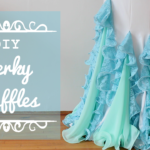 DIY Perky Ruffles - Flounce ruffles with fishing line