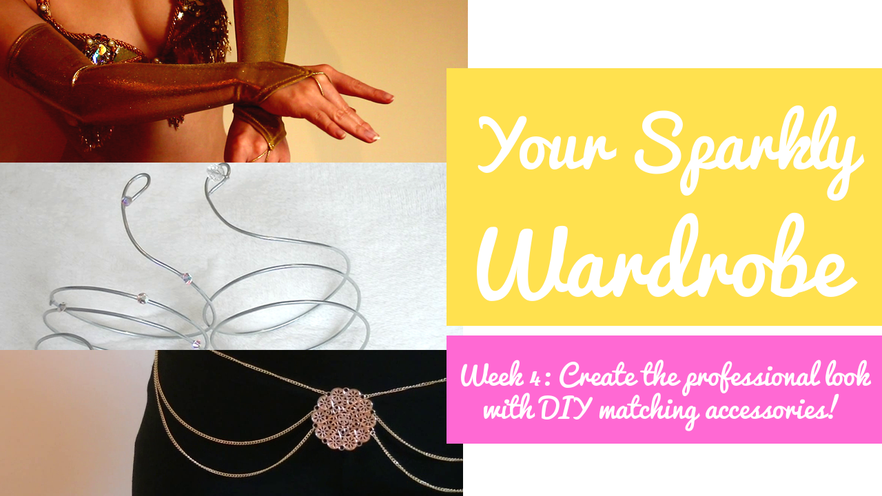 create the professional look easy diy matching accessories create the professional look 5 easy diy matching accessories sew no sew your sparkly wardrobe week 4 sparkly belly
