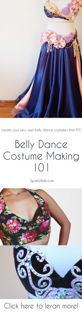 Belly Dance Costume Making 101